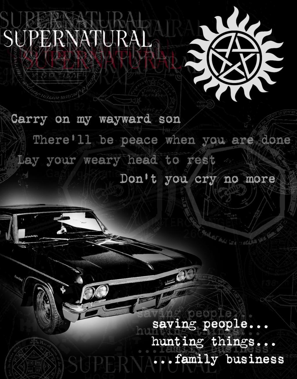 Source Fc01deviantart Report Awesome Supernatural Impala Wallpaper