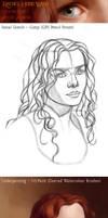 MyPaint / GIMP Process : Rachel Hurd Wood - Steps