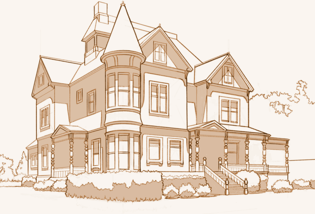 Victorian House Architecture Study By Aliciane On Deviantart