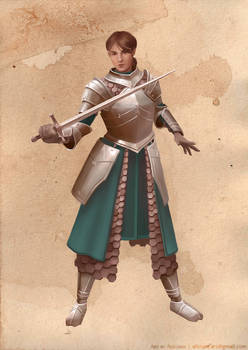 The Warrior (Female Version)