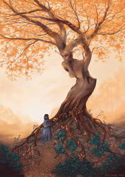 The Guardian of the Golden Grove by Aliciane