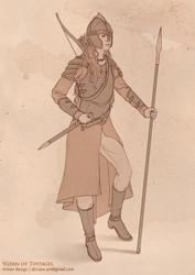 [Morgan le Fay] Ygern of Tintagel - Armor design
