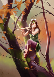 The Lady of the Wise Trees