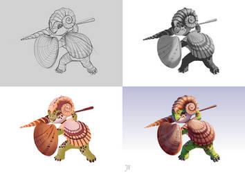 Seashell - Steps by Aliciane