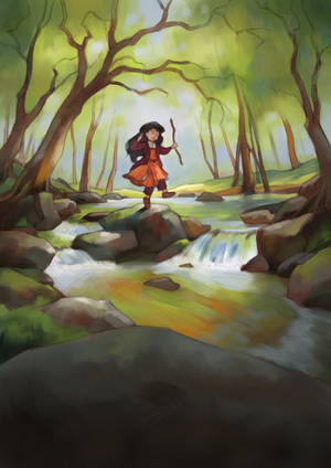 Into the Woods - Rough colors by Aliciane