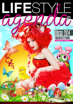 LifeStyle Agenda issue#2nd / Magazine Cover
