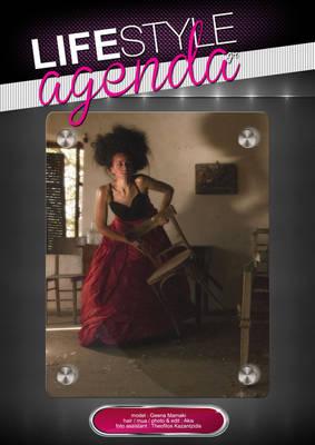 LifeStyle Agenda issue#8th / Magazine Back Cover