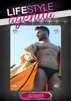 LifeStyle Agenda issue#10th / Magazine Back Cover by LifeStyleAgenda