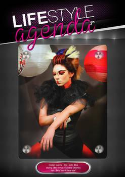 LifeStyle Agenda issue#41st / Magazine Back Cover