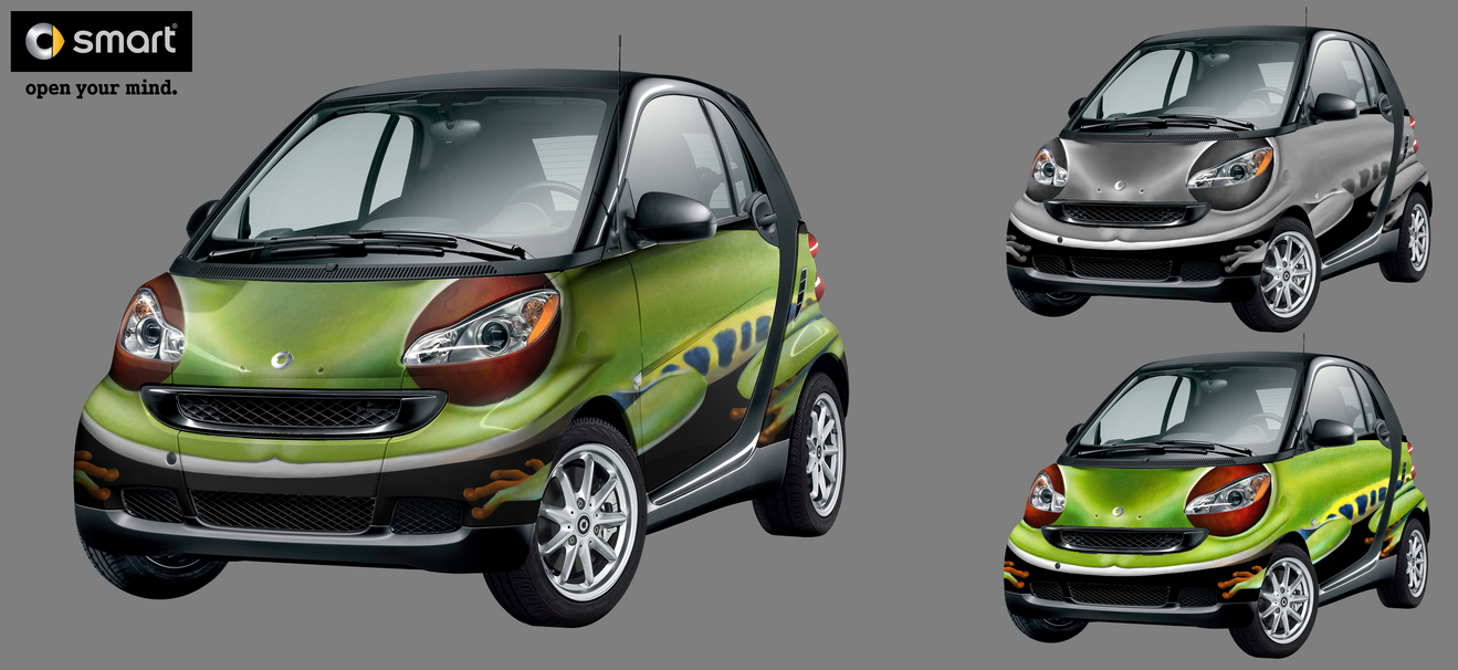 Frog Car - SmartCar entry 2 by Xeraki