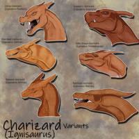Charizard Variants