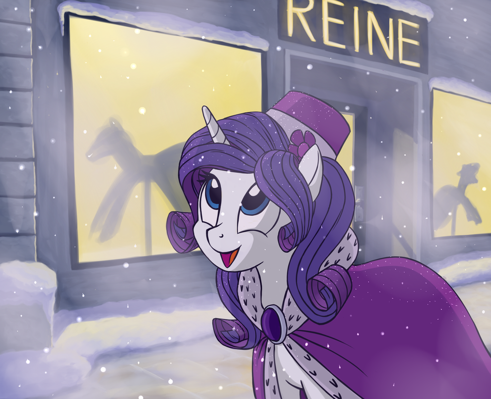 Magical snow by Vistamage