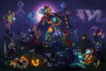 Halloween Collab from Marussia's Plot! by Vistamage