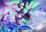 DJ Sona - Kinetic (League of Legends fanart)