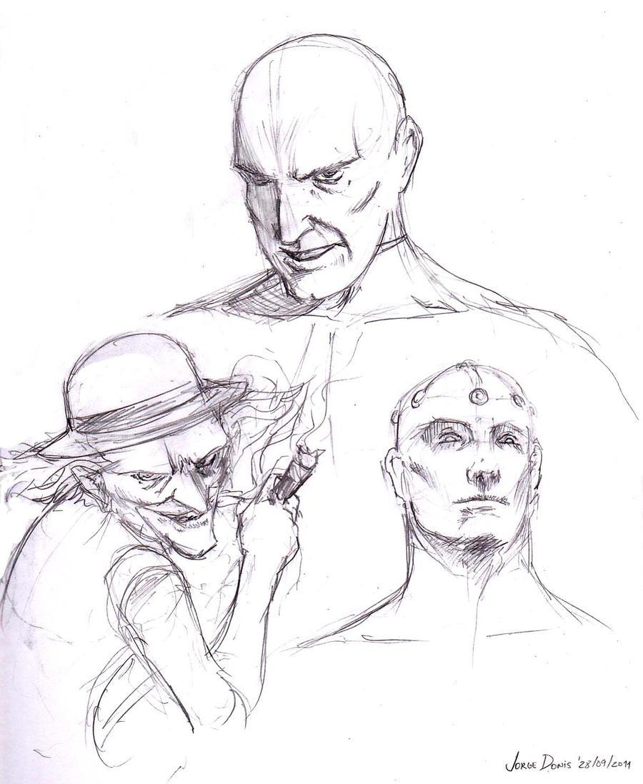 Superman Villains 280911 by jorgedonis