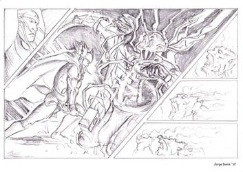 Thor vs Ork! (part 2) by jorgedonis