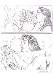 Wonder Woman - Alien gratitude by jorgedonis