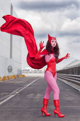Scarlet witch by Solipsis79