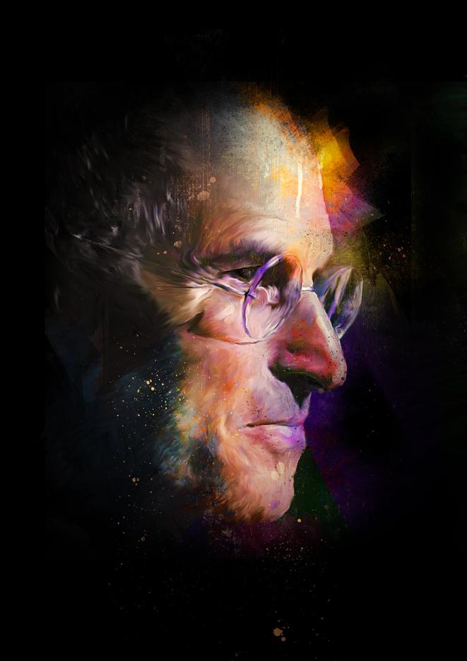 Steve Jobs for ASKMEN.com by turk1672