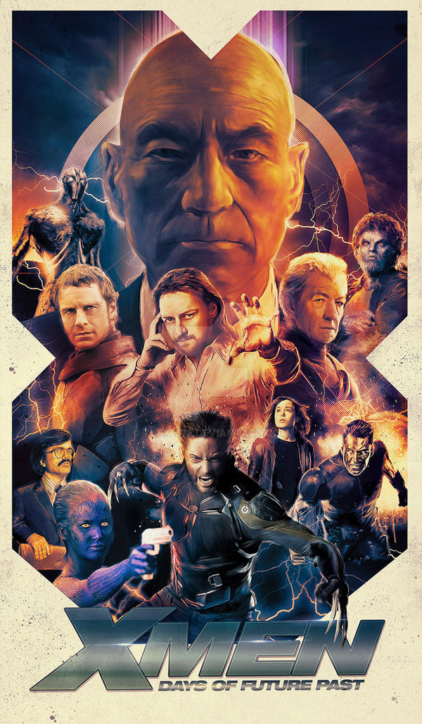 X-Men: Days of Future Past by turk1672