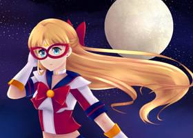 Sailor V by LunaLenCreations