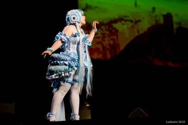 Aquamarine on Stage by Yamina00