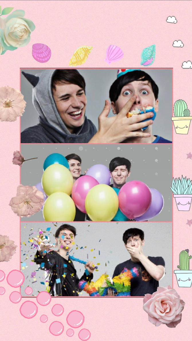 Dan And Phil Wallpaper By Shadowmoon8