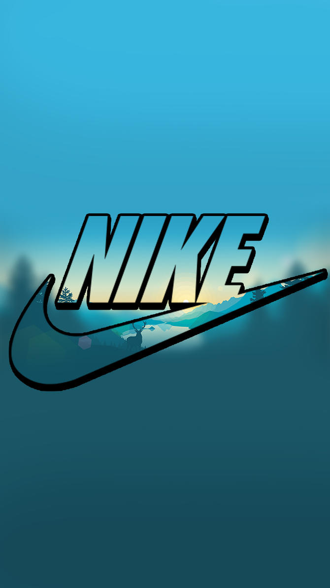 Wallpaper iphone nike - Nike Lock Screen Logo Wallpaper For Iphone By Lukejacobs02