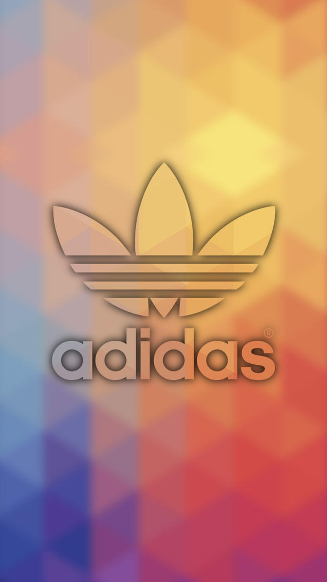 Adidas Logo Wallpapers Neon Mobile