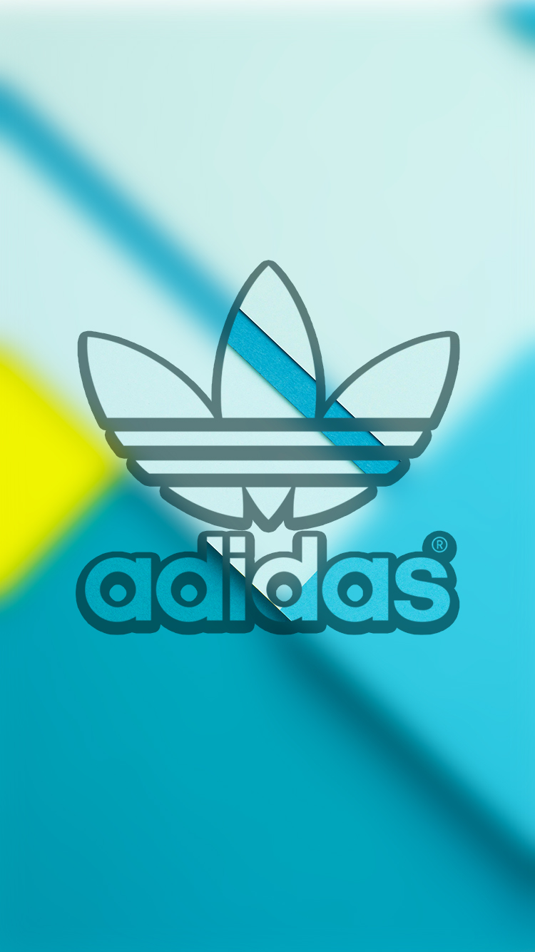 Adidas Lock Screen Logo Wallpaper For Iphone By Lukejacobs02