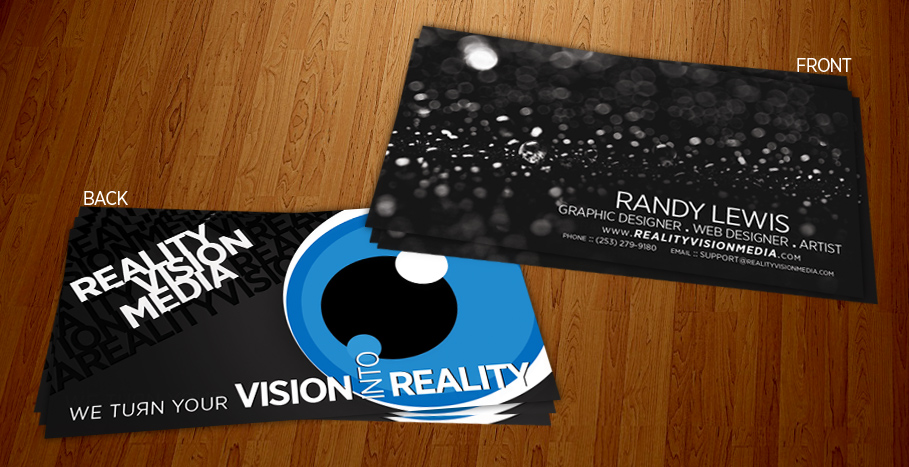rvmedia business cards by dRoop