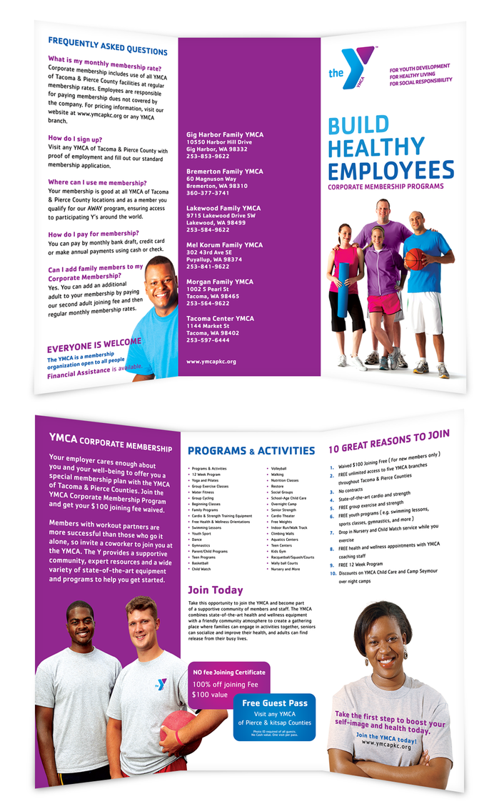 ymca - tri fold brochure by dRoop on DeviantArt