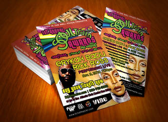 SoulTrain Rick Ross Flyer by dRoop