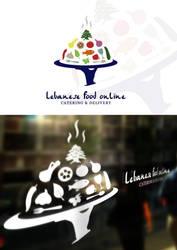 Lebanese Food Online Logo by dRoop
