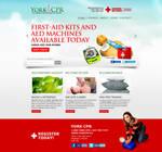 York CPR Training n First-Aid Web Design