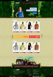 Emysclothing Homepage by dRoop