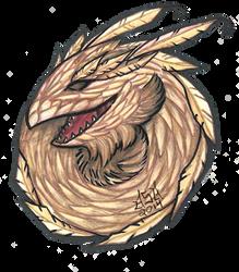 White dragon bust by anastasia2123