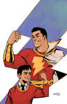 Captain Marvel and Billy Batson