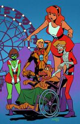 Scooby-Doom Patrol by GlebTheZombie