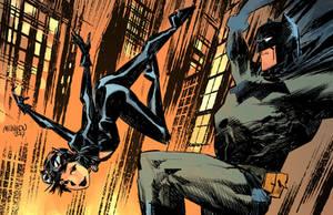 Batman and Catwoman by GlebTheZombie