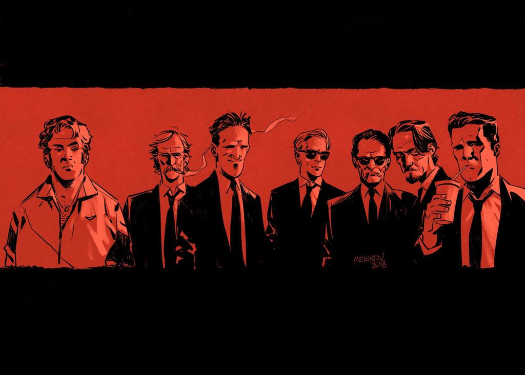Reservoir Dogs by GlebTheZombie
