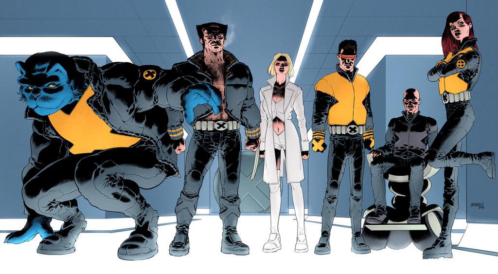 new x-men by GlebTheZombie