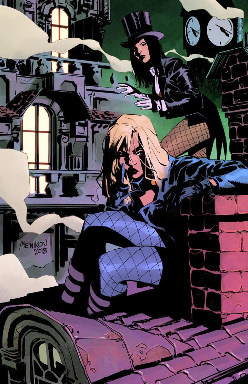 Black Canary and Zatanna by GlebTheZombie