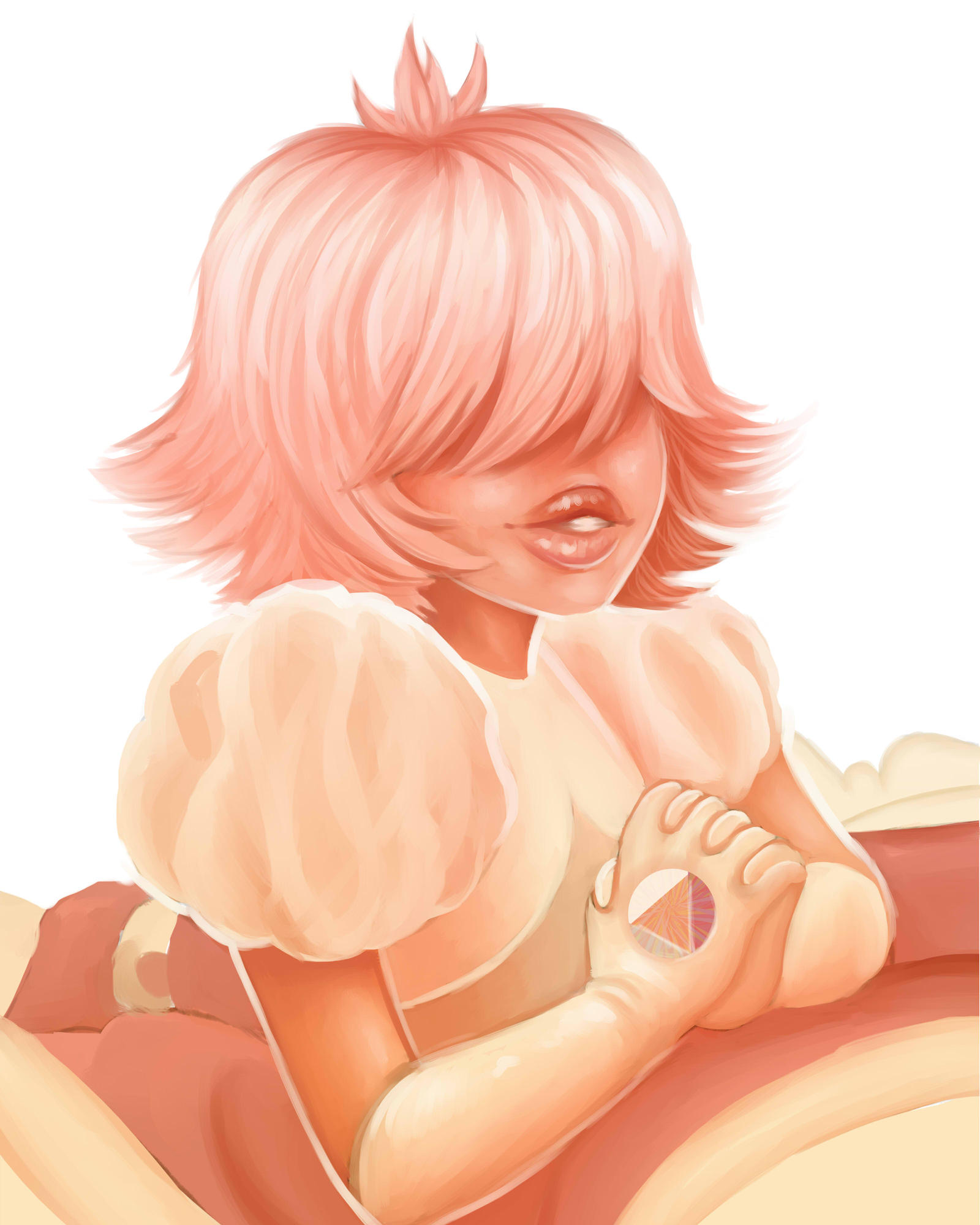 padparadscha sapphire joleremerald art by perfect pad universe steven the