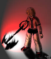 Roxas stand there by Watolf