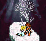 Chrono and Marle at Death Peak