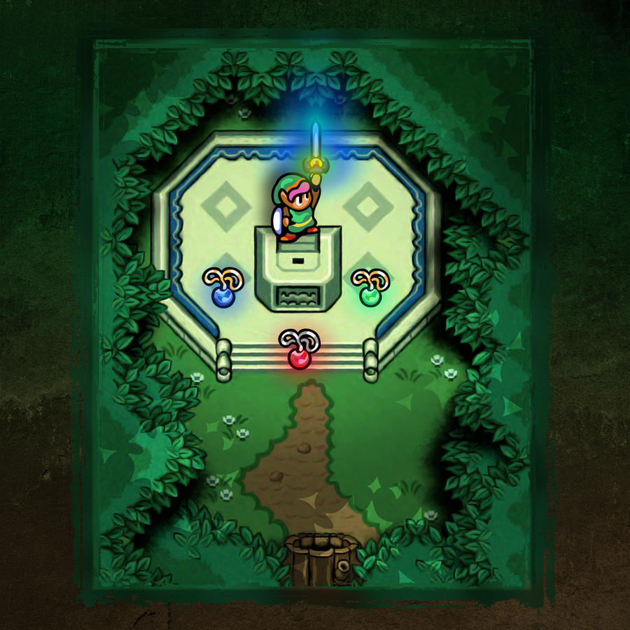 Link to the past pendants of virtue by likelikes on deviantart link to the past master sword by likelikes aloadofball Gallery