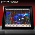 Castlevania Symphony of the Night Framed Print