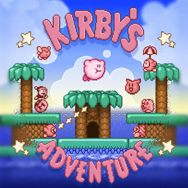 Adventure Kirby by likelikes