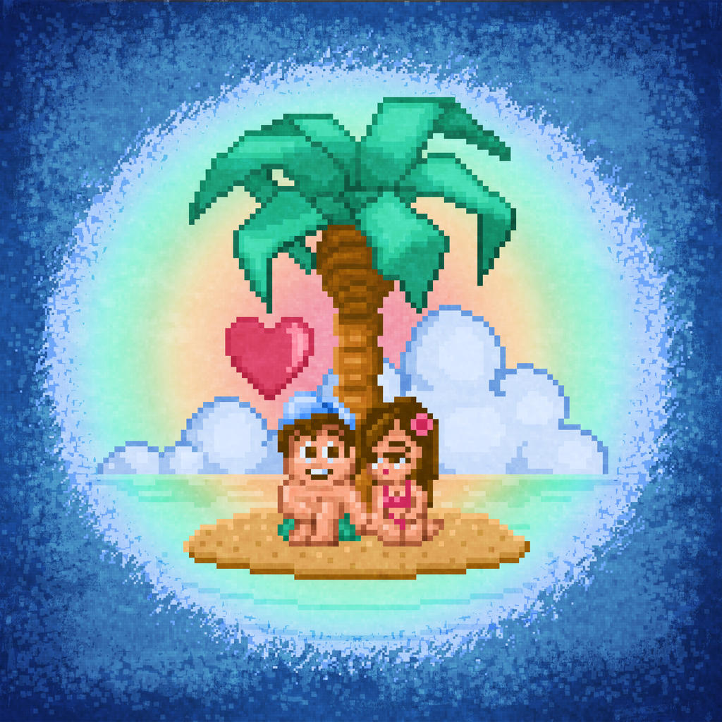 Adventure Island Love by likelikes